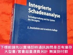 二手書博民逛書店Integrierte罕見Schadenanalyse: Technikgestaltung das System