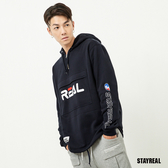 STAYREAL 潮運動REAL半開襟帽T