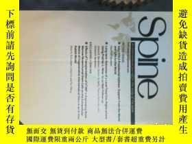 二手書博民逛書店spine罕見(magazine) 2014 05 15脊椎脊柱