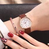 新款韓版簡約ins風女中學生時尚男錶防水夜光情侶手錶一對 育心小賣館
