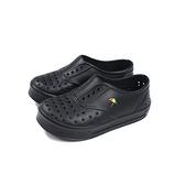 Arnold Palmer 懶人鞋 洞洞鞋 黑色 中童 童鞋 8203704-900 no041