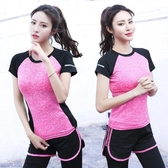 女健身房訓練裝備戶外運動晨跑速干衣