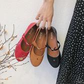 2018新款瑪麗珍小皮鞋女愛心扣軟妹學生女鞋日系洛麗塔娃娃鞋單鞋「時尚彩虹屋」