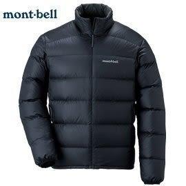 [好也戶外]mont-bell LIGHT ALPINE 800FP羽絨外套男款/黑(M號) No.1101428-BK