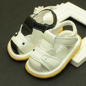 學步鞋 真皮男女寶寶涼鞋 0-1歲嬰兒學步鞋包頭涼鞋2歲幼兒軟底涼鞋子【全館九折】