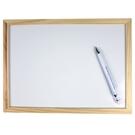 實木框小白板 磁性小白板 20cm x 30cm/一個入(促70)-AA6393-5728