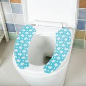 ✭米菈生活館✭【F40】印花卡通馬桶貼墊 剪裁 廁所 衛浴 保暖 坐墊 浴室 水洗 圖案 易乾 衛生