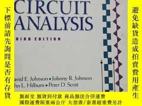 二手書博民逛書店electric罕見circuit analysisY24630