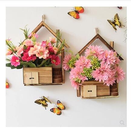 餐廳裝飾創意壁掛牆面木質家居客廳牆上裝飾品 露露日記