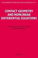 二手書博民逛書店《Contact Geometry and Nonlinear Differential Equations》 R2Y ISBN:9780521824767