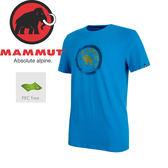 【MAMMUT Seile T-Shirt 男《帝國藍》】1041-09210-5528/長毛象/輕量透氣/懷舊復古/短袖圓領★滿額送