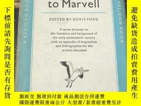 二手書博民逛書店From罕見Donne to Marvell。OF A GUIDE TO ENGLISH LITERATURE 從