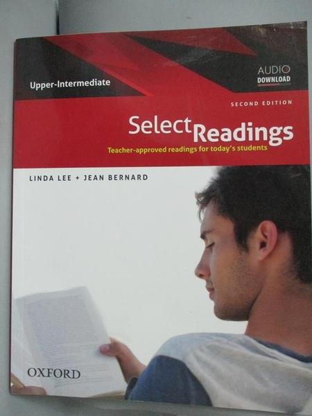 【書寶二手書T6/語言學習_YDV】Select Readings:Upper-Intermediate_Linda L