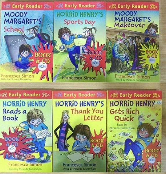 HORRID HENRY彩色有聲讀本.任選三本優惠折扣
