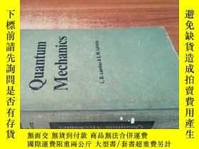 二手書博民逛書店精裝罕見英文版《QUANTUM MECHANICS》【量子力學導