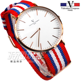valentino coupeau PARIS 范倫鐵諾 異國風情 英倫情人 指針錶 防水手錶 中性錶 女錶 男錶 V61349RBW玫