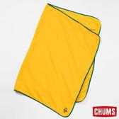 CHUMS 日本 Micro Fleece 隨身毯 芥末黃 CH621142Y002