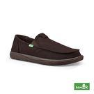 SANUK VAGABOND TRIPPER CHILL 內刷毛寬版帆布懶人鞋-男款 1095083 BNBW(深咖啡色)