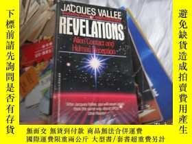 二手書博民逛書店JACQUES罕見VALLEE REVELATIONS : Alien Contact and Human Dec