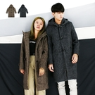 外套-毛料牛角釦帽大衣-冬季穿搭毛料款《999A686》共2色『RFD』