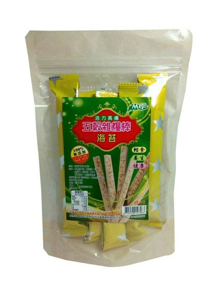 五榖雜糧棒-海苔口味(180g/包)