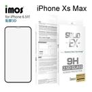 【愛瘋潮】iMOS 2.5D康寧神極點膠3D滿版 iPhone Xs Max (6.5吋) 玻璃螢幕保護貼 美觀防塵 美國康寧授權