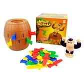 桌面游戲聚會整蠱玩具海盜桶猩猩酒桶插劍游戲兒童禮物 初色家居館