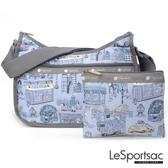 LeSportsac - Standard側背水餃包/流浪包-附化妝包 (曼哈頓之旅) 7520P F707