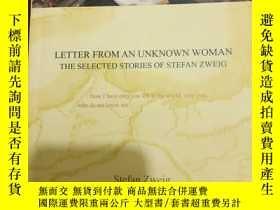 二手書博民逛書店LETTER罕見FROM AN UNKNOWN WOMAN. The selecties stories of S