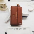 『Marc Jacobs旗艦店』現貨 Marc Jacobs|MJ|真皮中夾 錢包 皮夾 零錢夾 名片夾