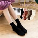 蕾絲襪子 竹纖維黑色襪子女可愛韓國白色復古蕾絲花邊襪日系春秋中筒長襪女-Ballet朵朵