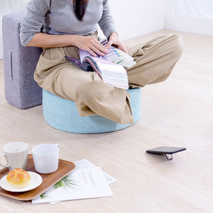 IN HOUSE-日式無壓力坐墊(方形/藍色)