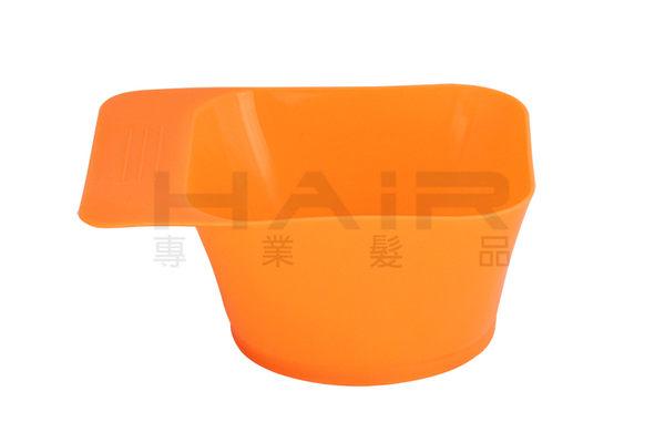 有柄刻度方型染碗 正方形 加深 另售染刷 染膏 染劑 漂粉 雙氧乳 【HAiR美髮網】