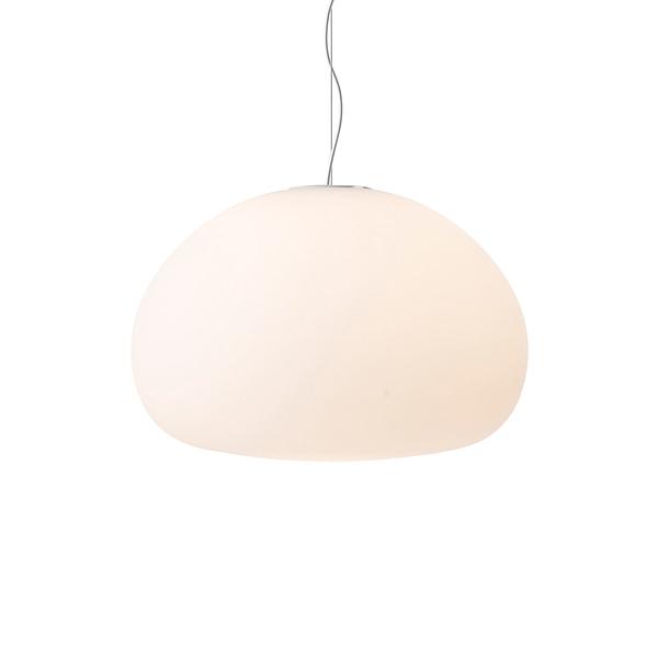 丹麥 Muuto Fluid Suspension Lamp 漂浮 霧白玻璃 吊燈(大尺寸)