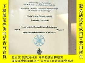 二手書博民逛書店landolt-bornstein罕見gruppe III group III band 3 volume 3(P