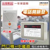 監視器 開鎖型中繼器 門口機 管制系統 門禁管控 電話總機系統 出租套房管理 對講機