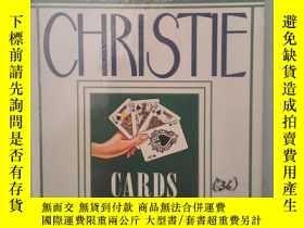 二手書博民逛書店CARDS罕見ON THE TABLE《牌中牌》阿嘉莎·克莉絲蒂