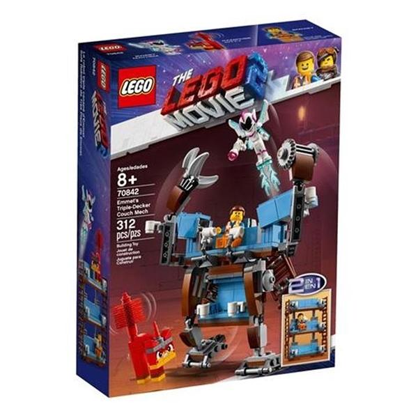 LEGO 樂高 70842 Emmet s Triple-Decker Couch Mech
