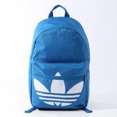 adidas BP CLAS TREFOIL 愛迪達 後背包 背包 藍 -AJ8528