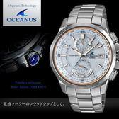 【人文行旅】OCEANUS   OCW-T1010G-7A 高科技智慧電波錶