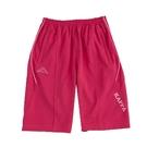 KAPPA義大利小朋友吸濕排汗速乾針織半短褲~莓紅/粉紫色