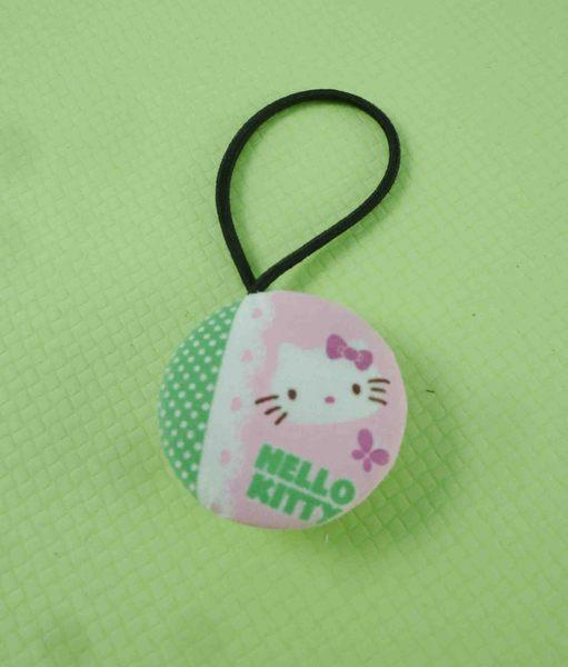【震撼精品百貨】Hello Kitty 凱蒂貓~髮束-粉綠