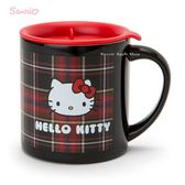 日本限定 HELLO KITTY 蘇格蘭格紋風  不銹鋼 真空構造 保溫杯 / 保冷杯