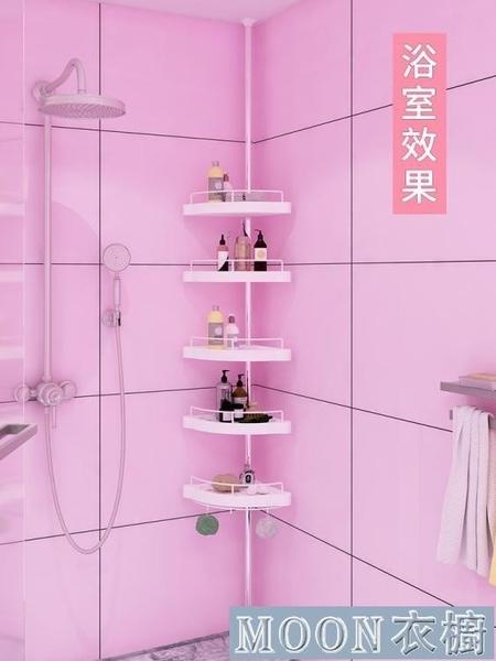 浴室置物架 免打孔頂天立地浴室衛生間置物架壁掛廁所洗手間架子夾縫收納神器 快速出貨