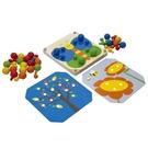《 泰國 PLAN TOYS 》創意配色木釘板 / JOYBUS玩具百貨