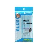 Lin Lian Bandages 利聯醫技 防護用口罩-水藍色(7入裝) 成人口罩/醫療用口罩【小三美日】