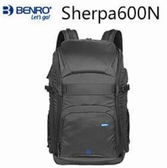 【聖影數位】BENRO 百諾 雙肩攝影背包 雪豹系列 Sherpa 600N 黑
