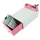 【創意小物】DIY 可愛韓系筆筒造型抽屜收納盒 / 置物盒 (免運)