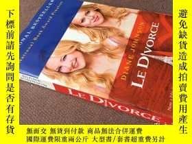 二手書博民逛書店Le罕見Divorce   戀戀巴黎   離婚(英語 美國全國圖