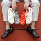 洞洞鞋 男潮流夏季男士韓版個性防滑軟底花園鞋泡沫超輕便大碼涼鞋【快速出貨八折鉅惠】